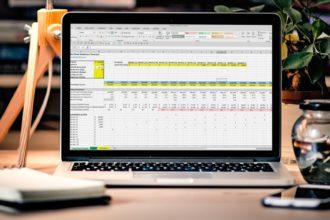Sales Team Headcount Forecast Spreadsheet