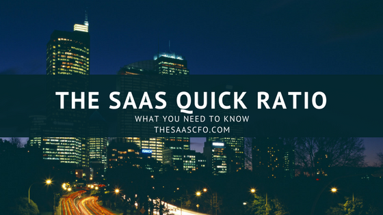 SaaS Quick Ratio