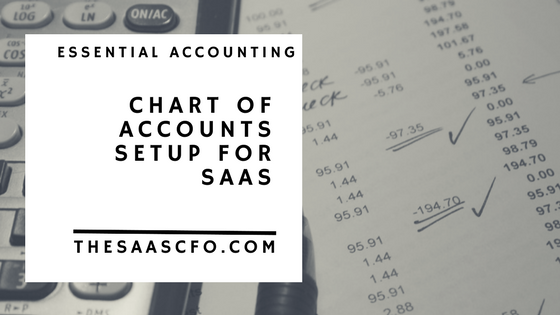Sample Chart Of Accounts In Saas